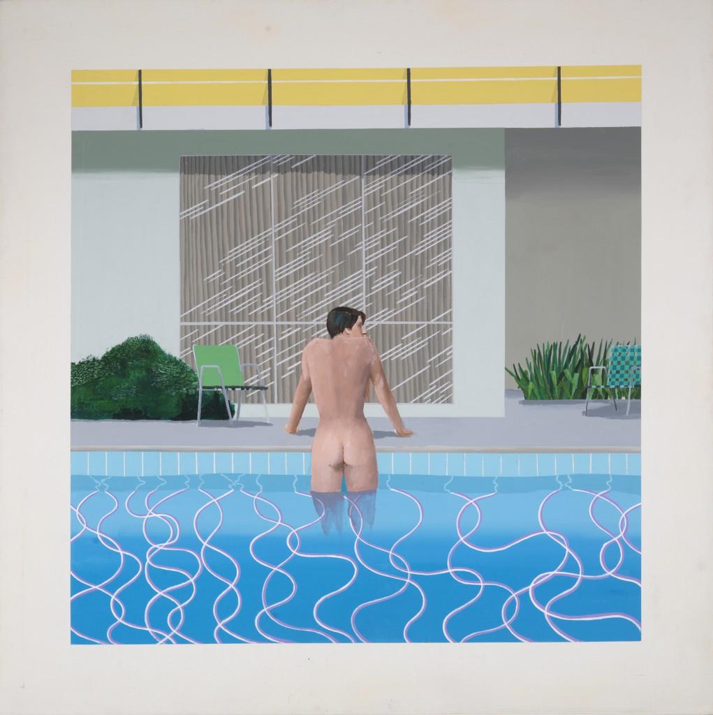 Peter Getting our of Nick's Pool, 1966 © David Hockney - Foto: Collection Walker Art Gallery, Liverpool © Richard Schmidt