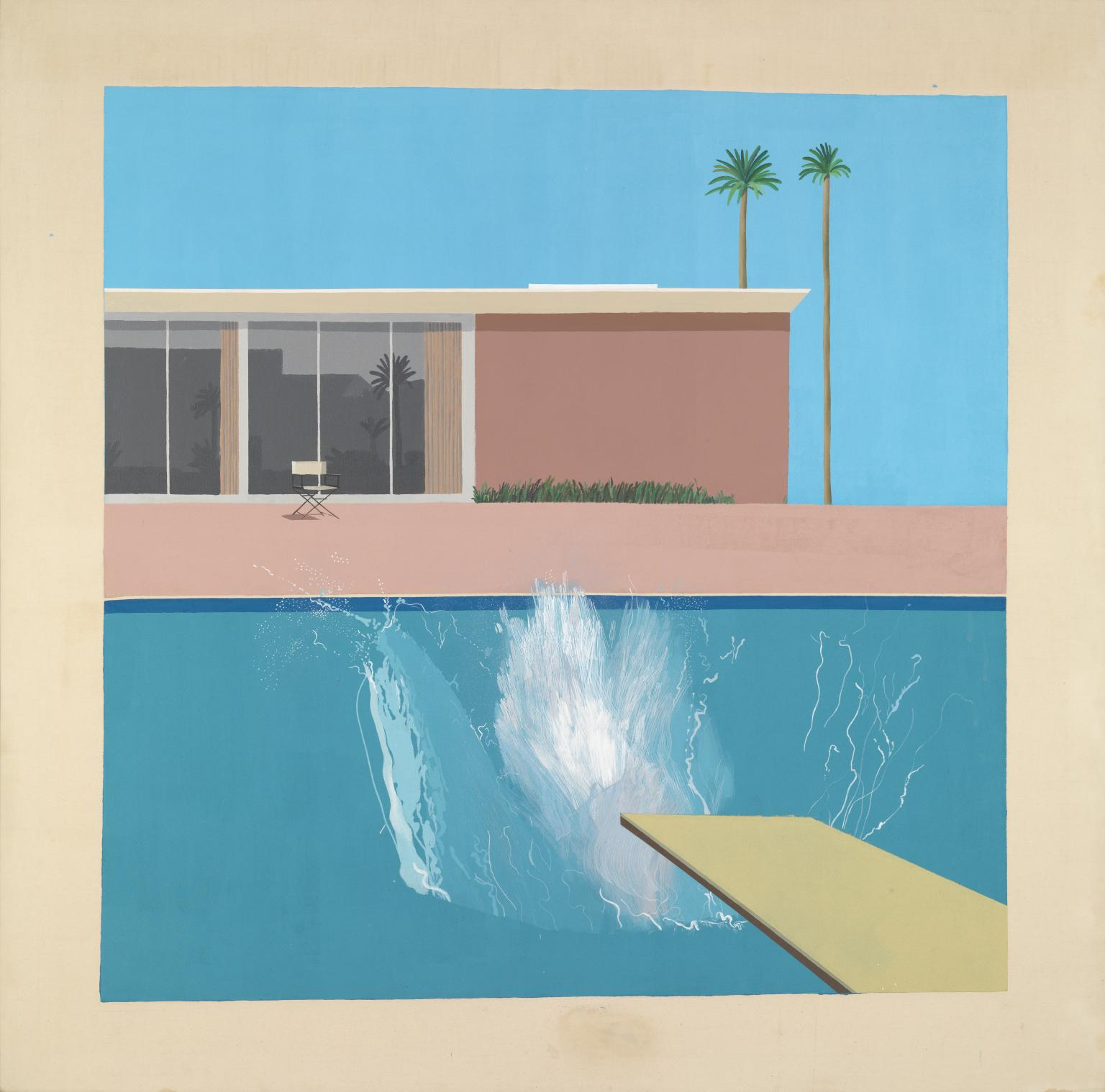 A Bigger Splash 1967 - © David Hockney - Foto © Tate