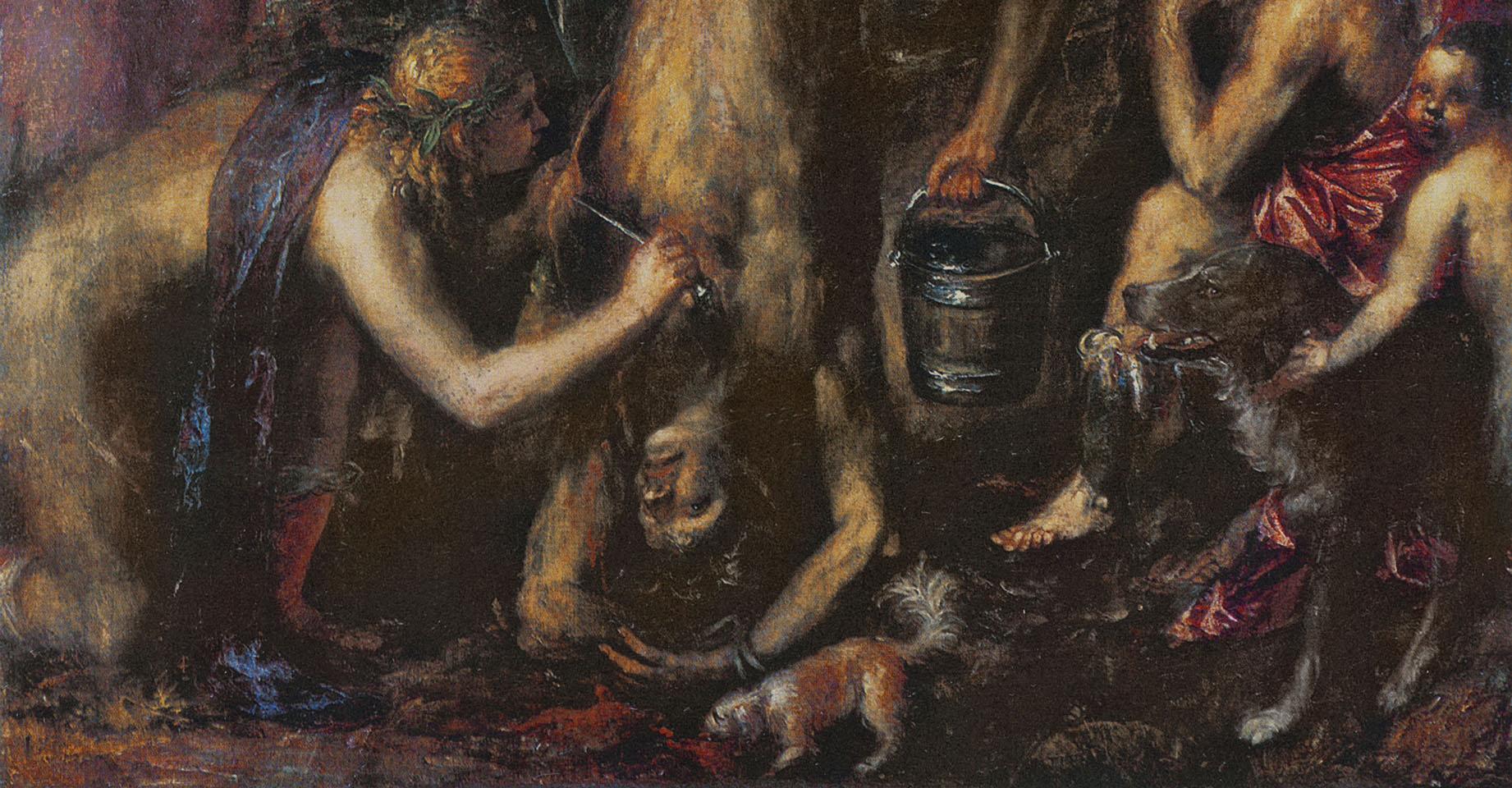 'Castigo de Marsias', detalle - Tiziano, c. 1570-1576 - Foto: Creative Commons