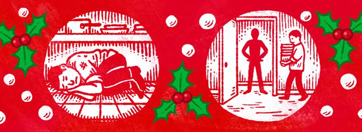 Cadena decorativa de Andrew Rae con la historia de Asif - Foto: aesopagency.com