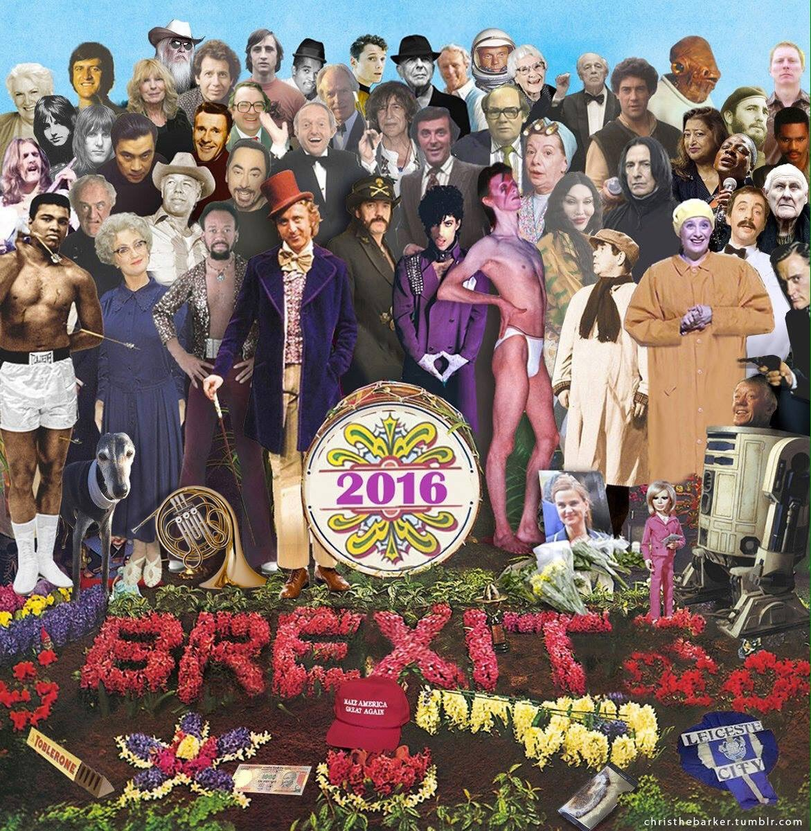 La versión 2016 de 'Sgt. Pepper's Lonely Hearts Club Band' - Christhebarker