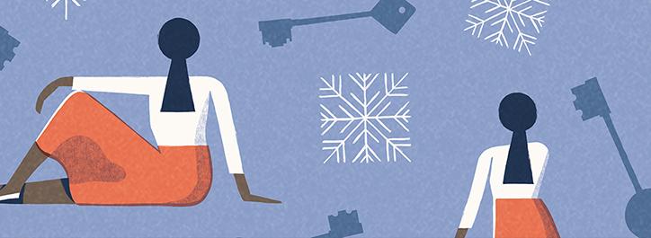 Ilustración de David Doran dedicada a la historia de Grace - Foto: aesopagency.com