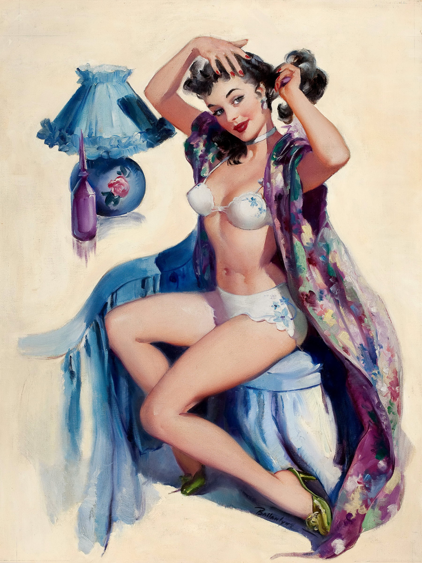 'Pin-up' de Joyce Ballantyne