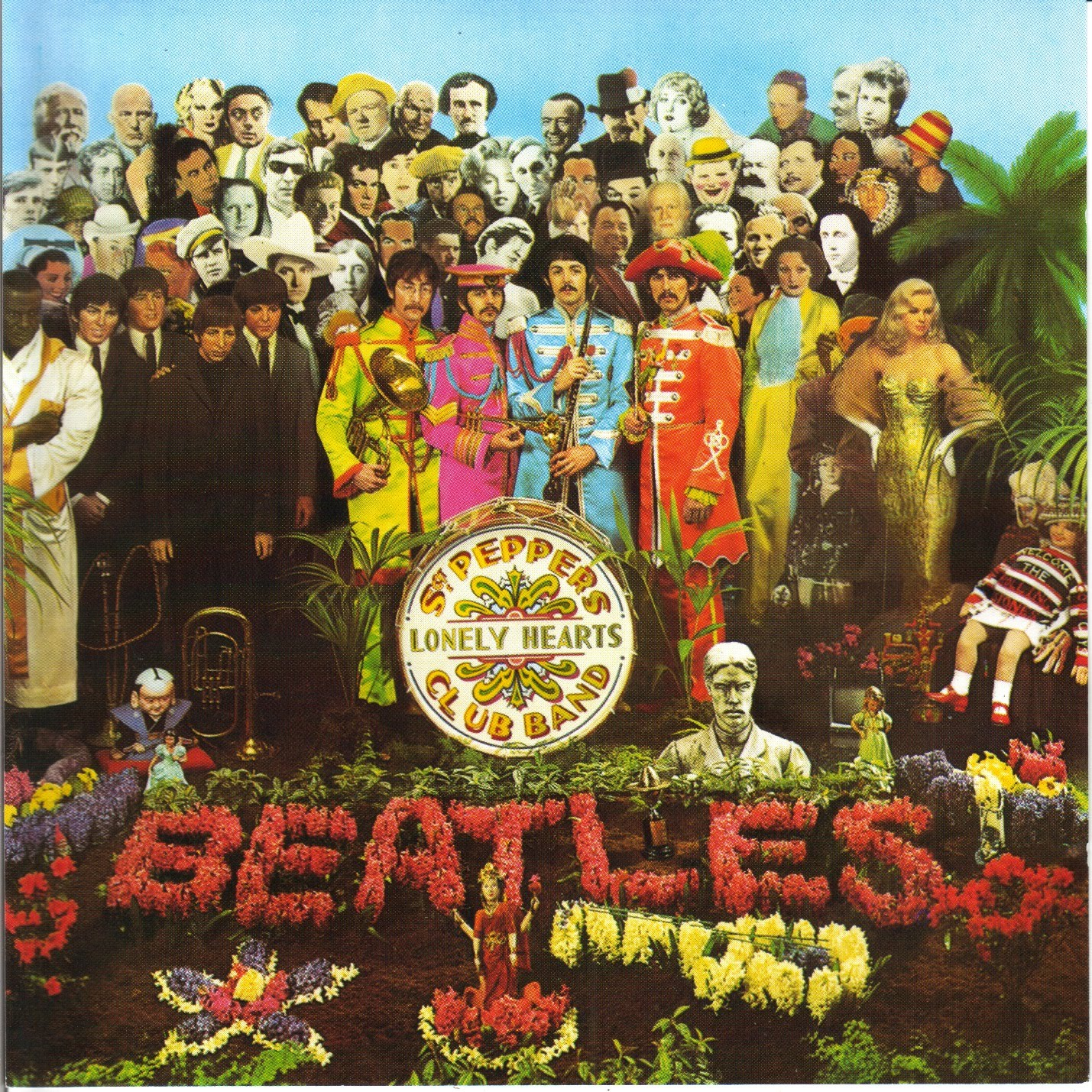 Portada de 'Sgt. Pepper's Lonely Hearts Club Band' (1967)