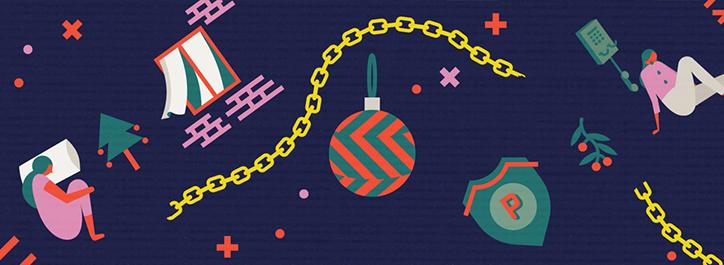 Diseño del estudio Radio para la campaña 'Unseen Christmas' - Foto: aesopagency.com