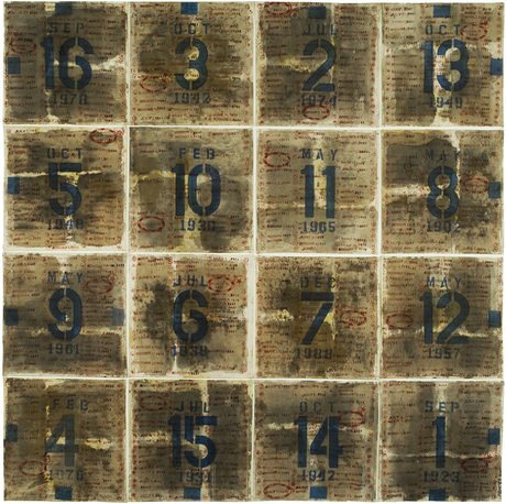 Magic Square 34 (2011) by George Widener. Image: © George Widener, courtesy Ricco/Maresca Gallery