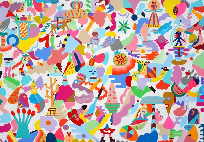 'Mediterranean flavour', obra de Mina Hamada y Zosen - Foto: cargocollective.com/minahamada