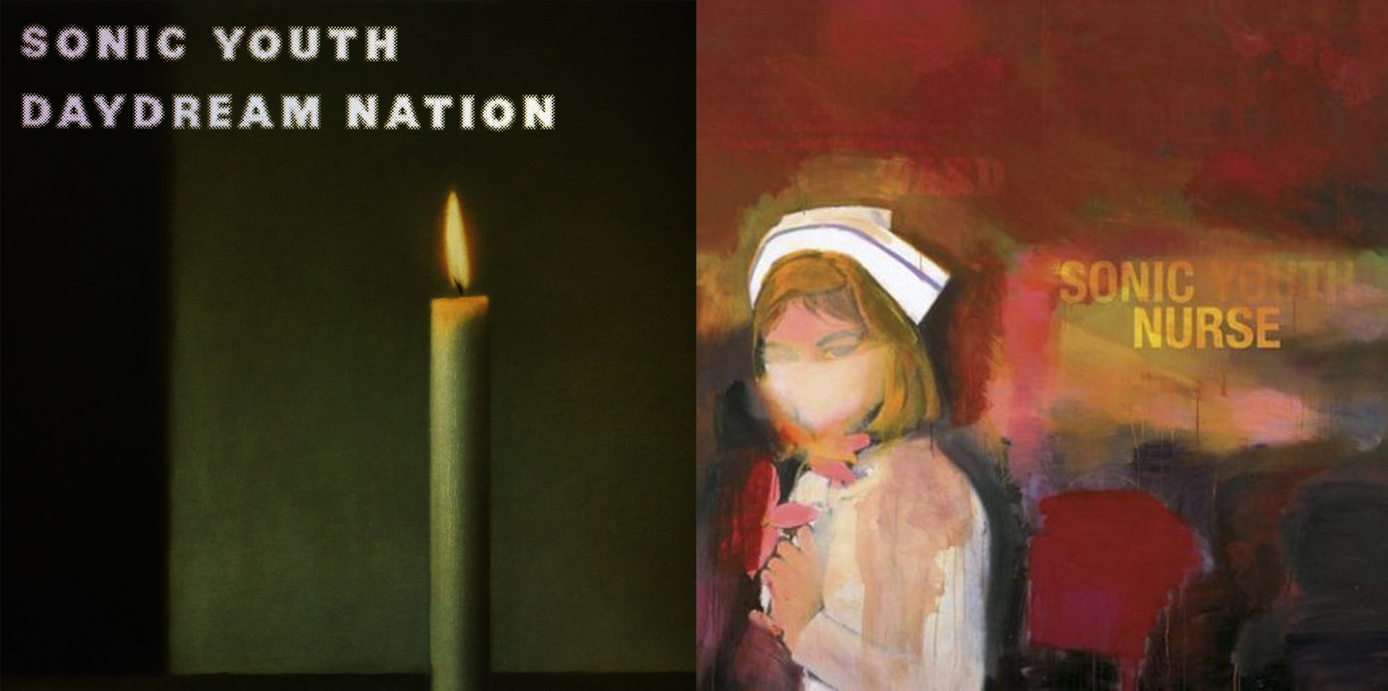 Dos discos con portadas 'arty' de Sonic Youth