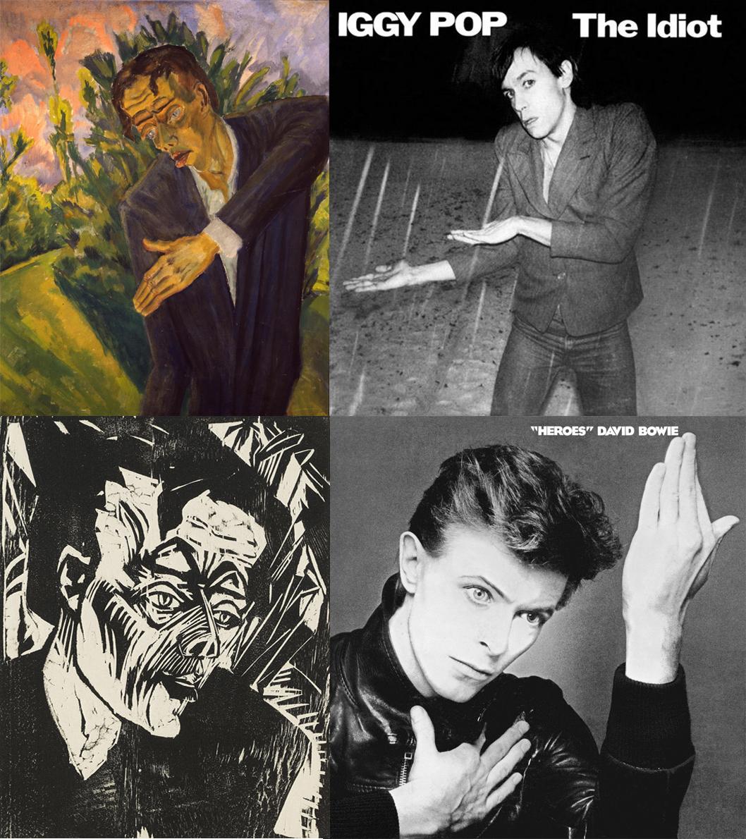 Bowie e Iggy Pop se ponen berlineses
