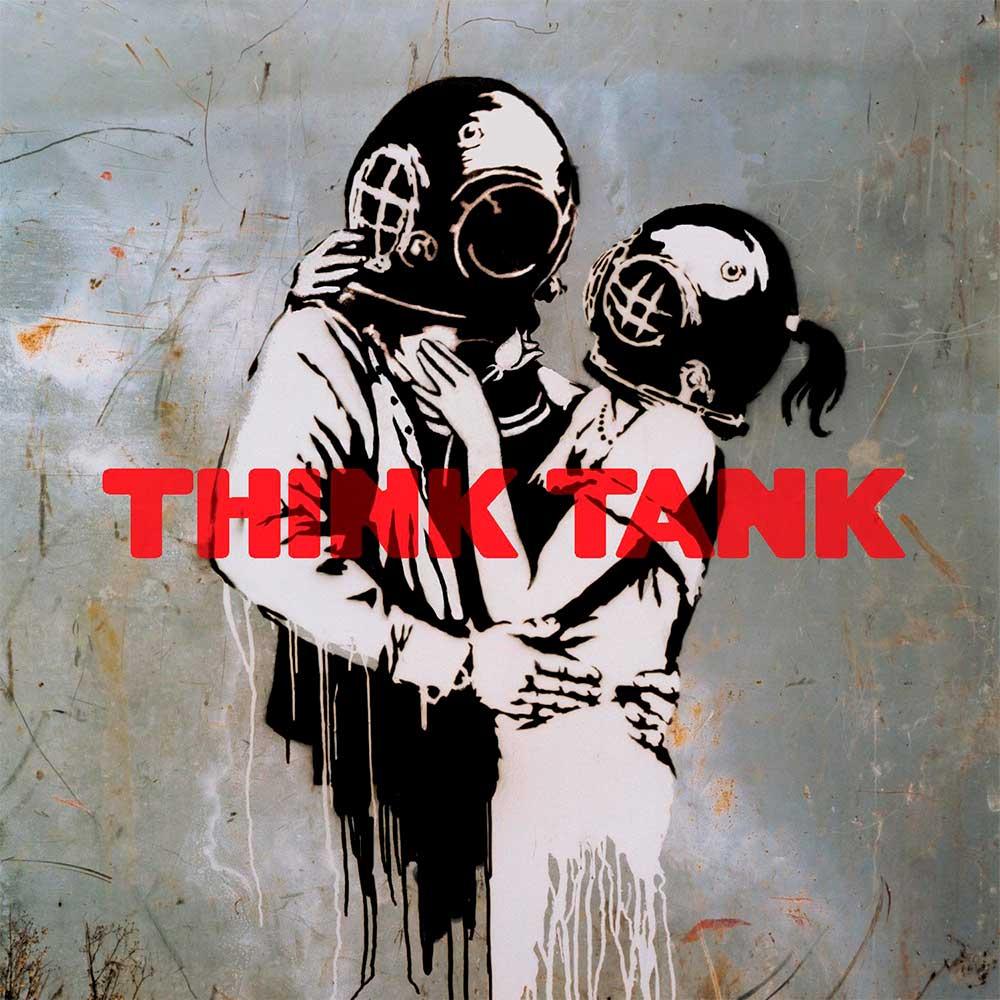 Banksy en una portada de Blur
