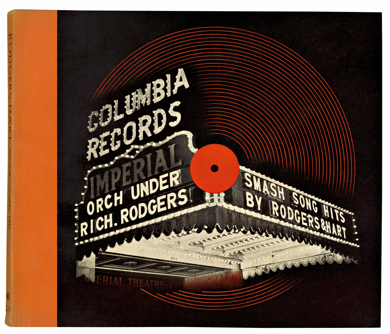 El primer disco con portada de la historia © Alex Steinweiss - Taschen