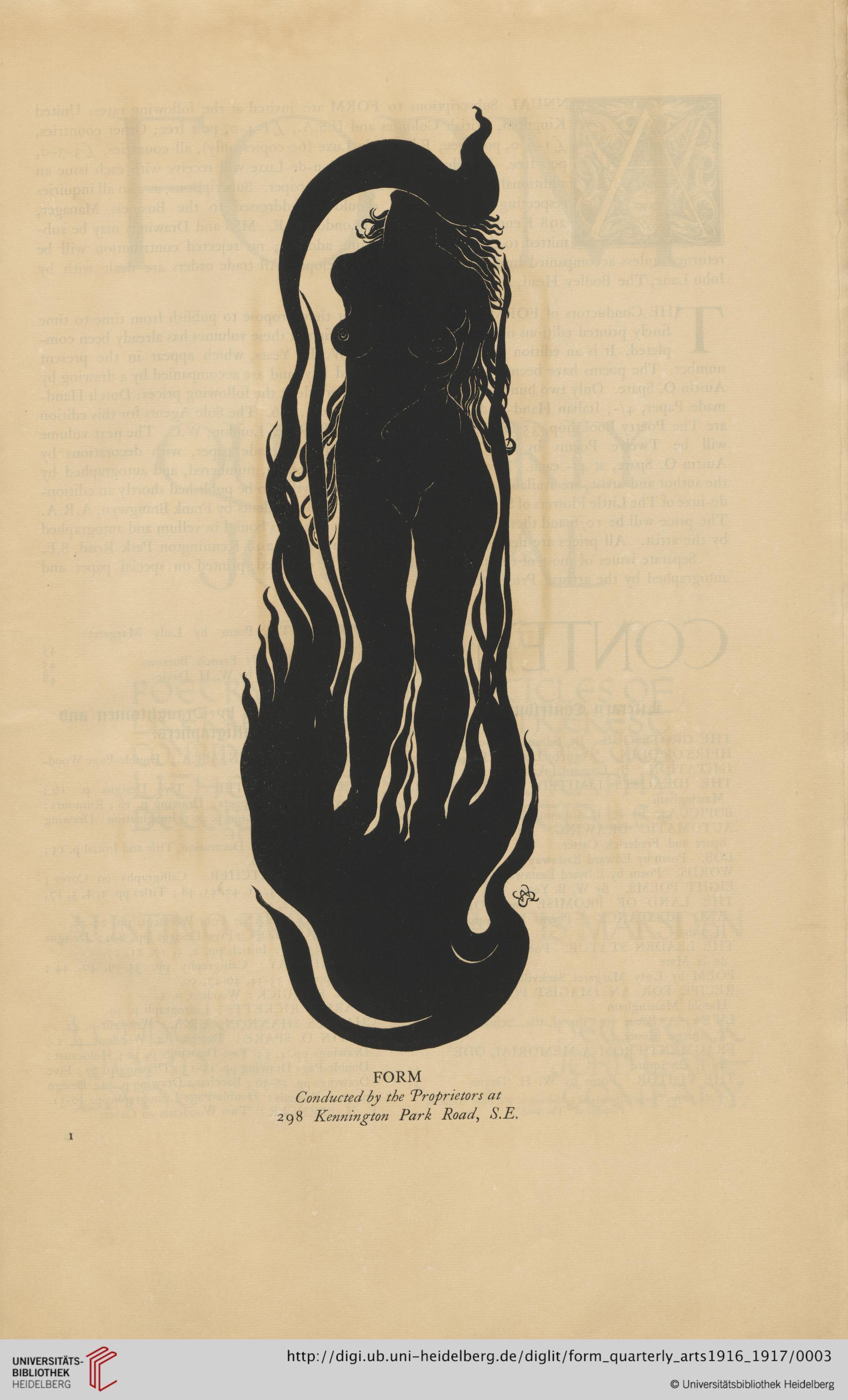 Ilustración de la revista 'Form', digitalizada por la Universidad de Heidelberg