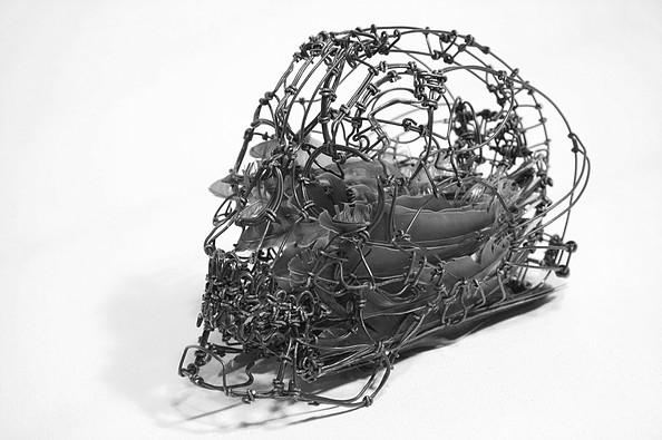 Calavera de 'Imago' - Claude-Olivier Guay - Foto: claudeog.wixsite.com