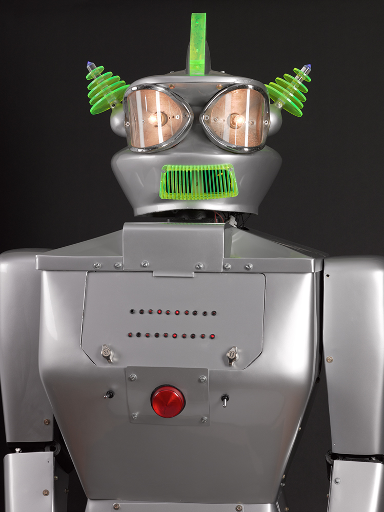 Humanoid robot, 'Cygan', built Dr Piero Fiorito, Italy, 1957 © The Board of Trustees of the Science Museum