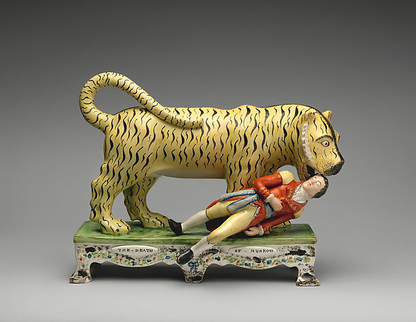 """The Death of Munrow"" by British, Staffordshire via The Metropolitan Museum of Art is licensed under CC0 1.0"