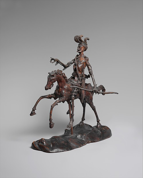 """Death"" by German via The Metropolitan Museum of Art is licensed under CC0 1.0"