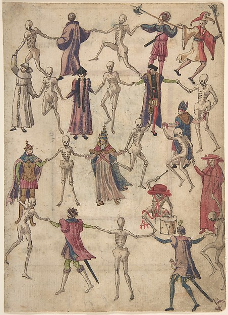 """The Dance of Death"" by Anonymous, German, 16th century via The Metropolitan Museum of Art is licensed under CC0 1.0"