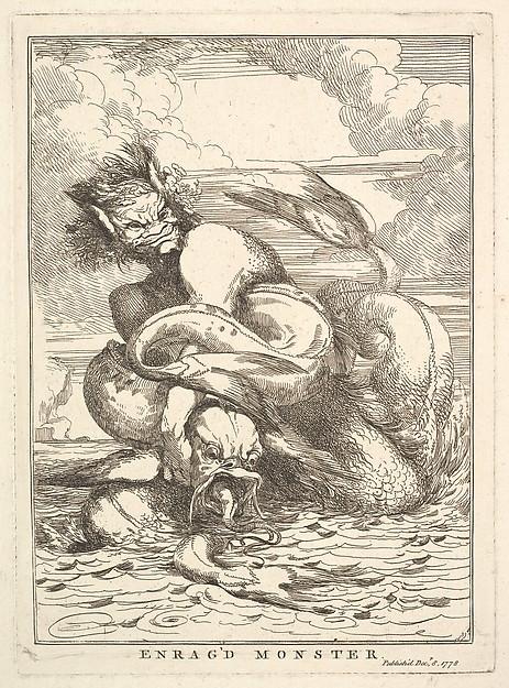 """Enrag'd Monster"" by John Hamilton Mortimer (British, Eastbourne 1740–1779 London) via The Metropolitan Museum of Art is licensed under CC0 1.0"