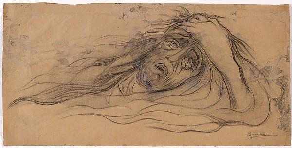 """""""Study for """"The Dream – Paolo and Francesca"""""""" by Umberto Boccioni (Italian, Reggio 1882–1916 Sorte) via The Metropolitan Museum of Art is licensed under CC0 1.0"""