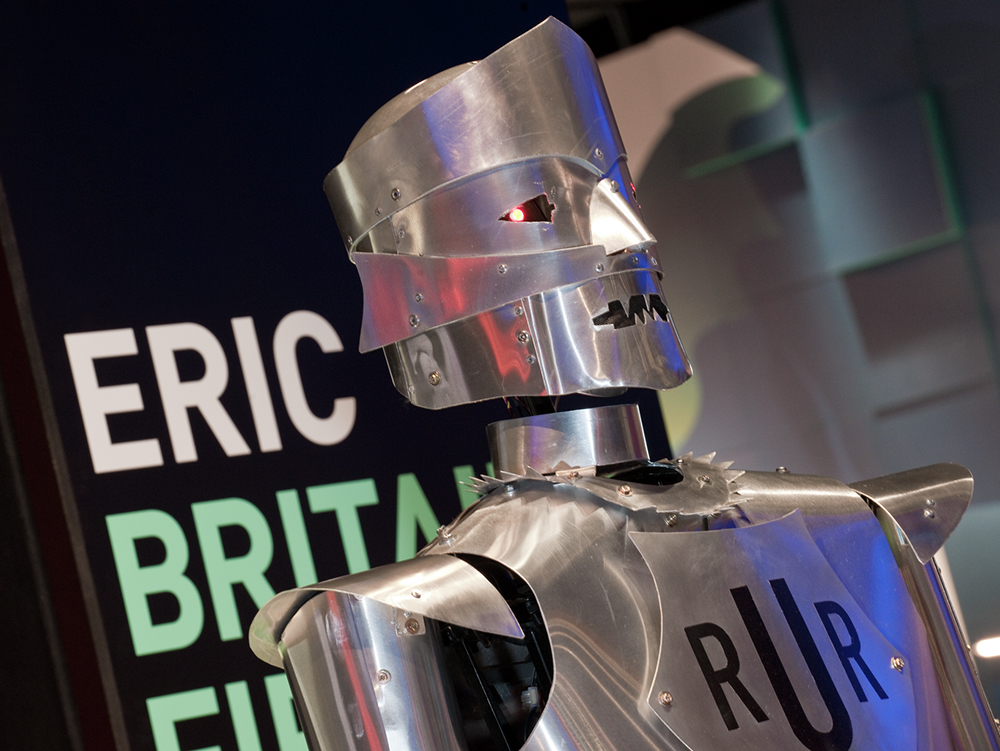 Eric the robot, working replica of the UK's first robot © The Board of Trustees of the Science Museum