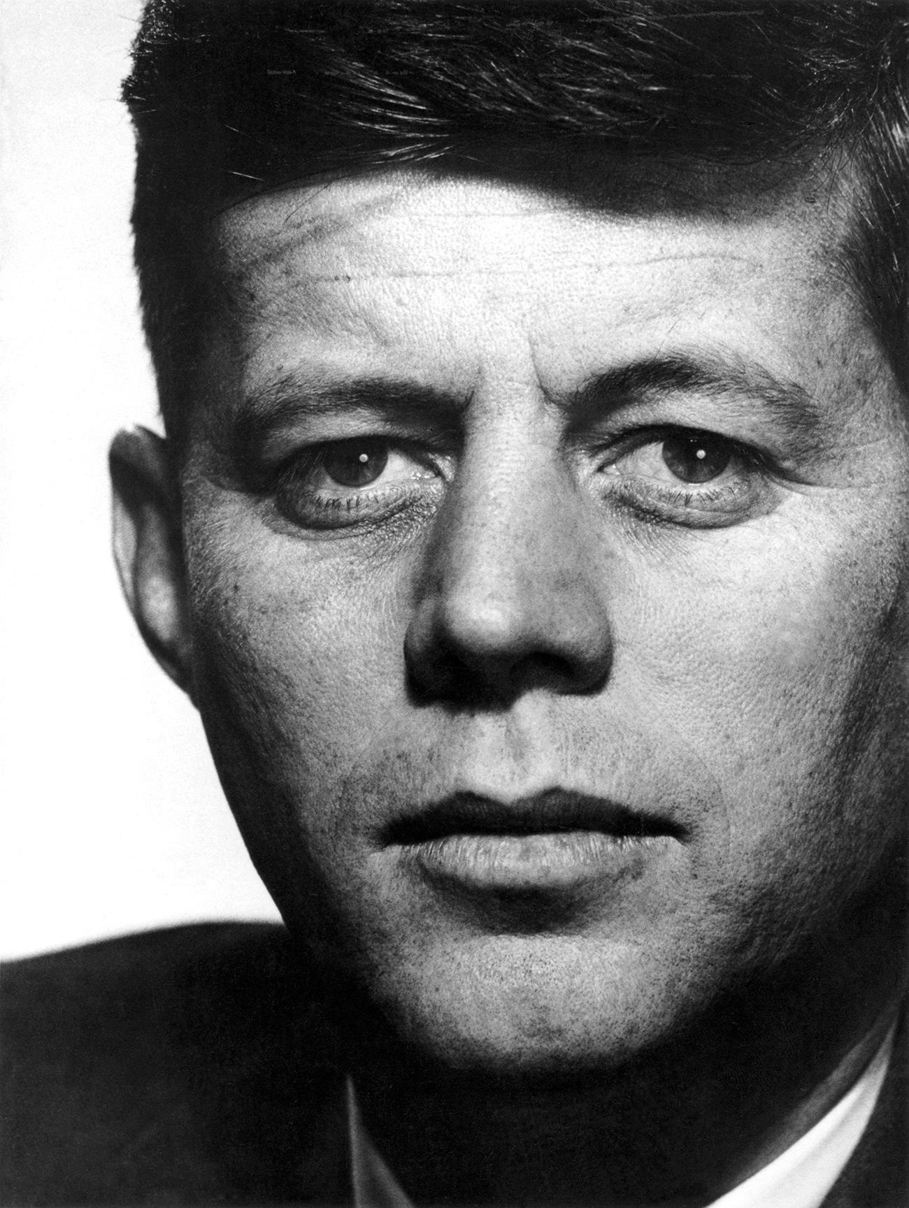 John F. Kennedy. Photo © Philippe Halsman, Magnum Photos