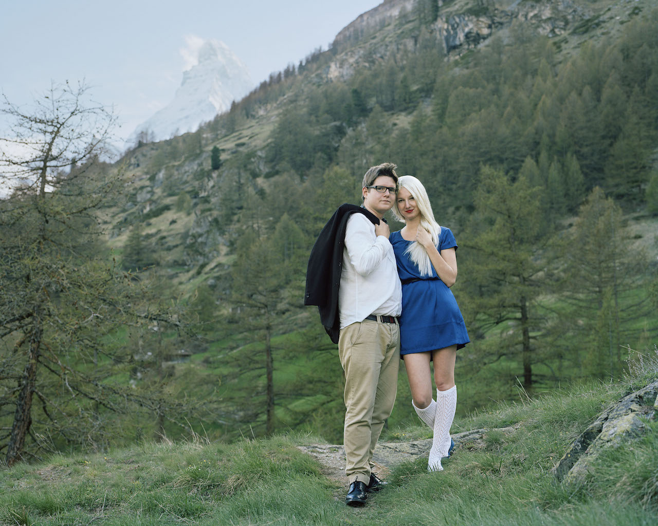 Demande en marriage (Marriage proposal), from the series Ekaterina, 2012 © Romain Mader / ECAL