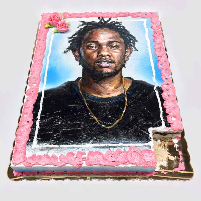'Feliz cumpleaños Kendrick' - Patrick Martinez