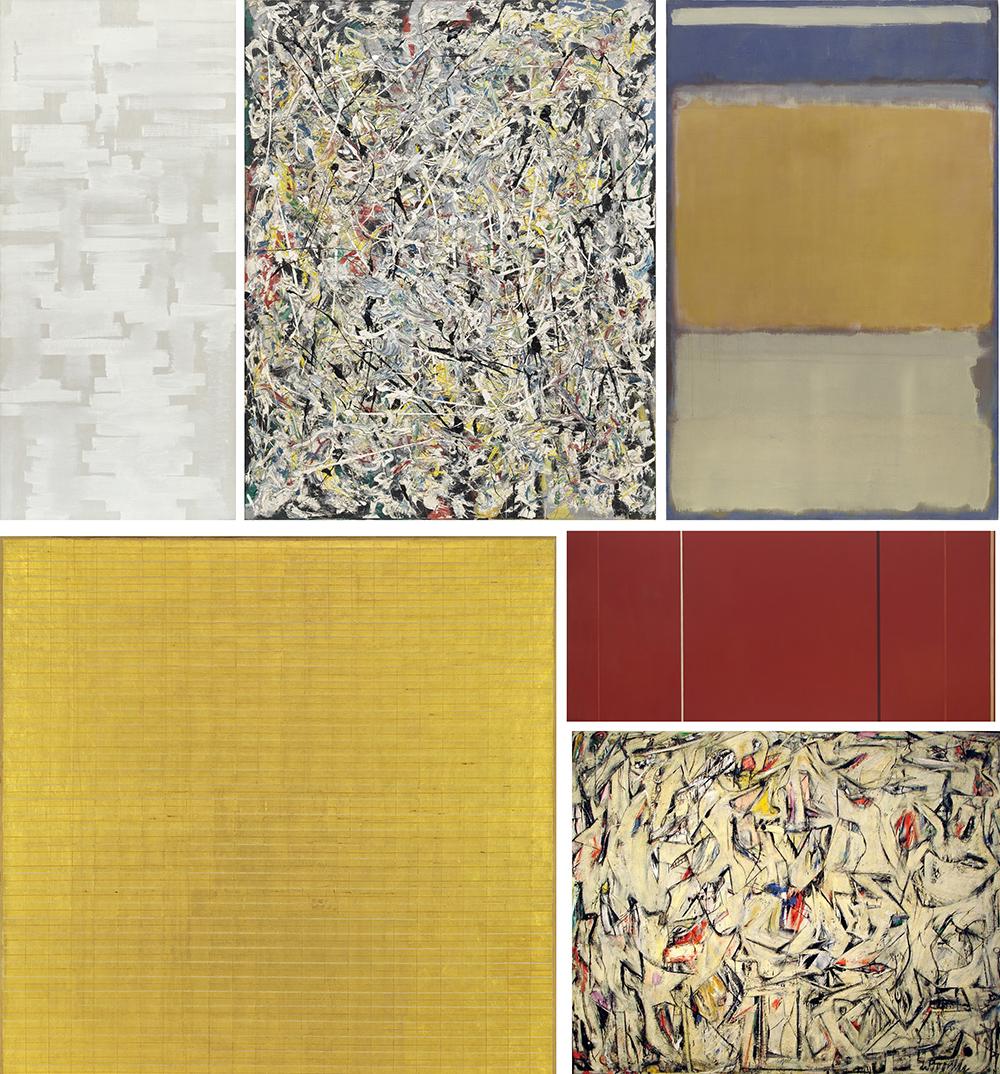 Algunas de las obras que serán analizadas en el curso en línea del MoMA © MoMA