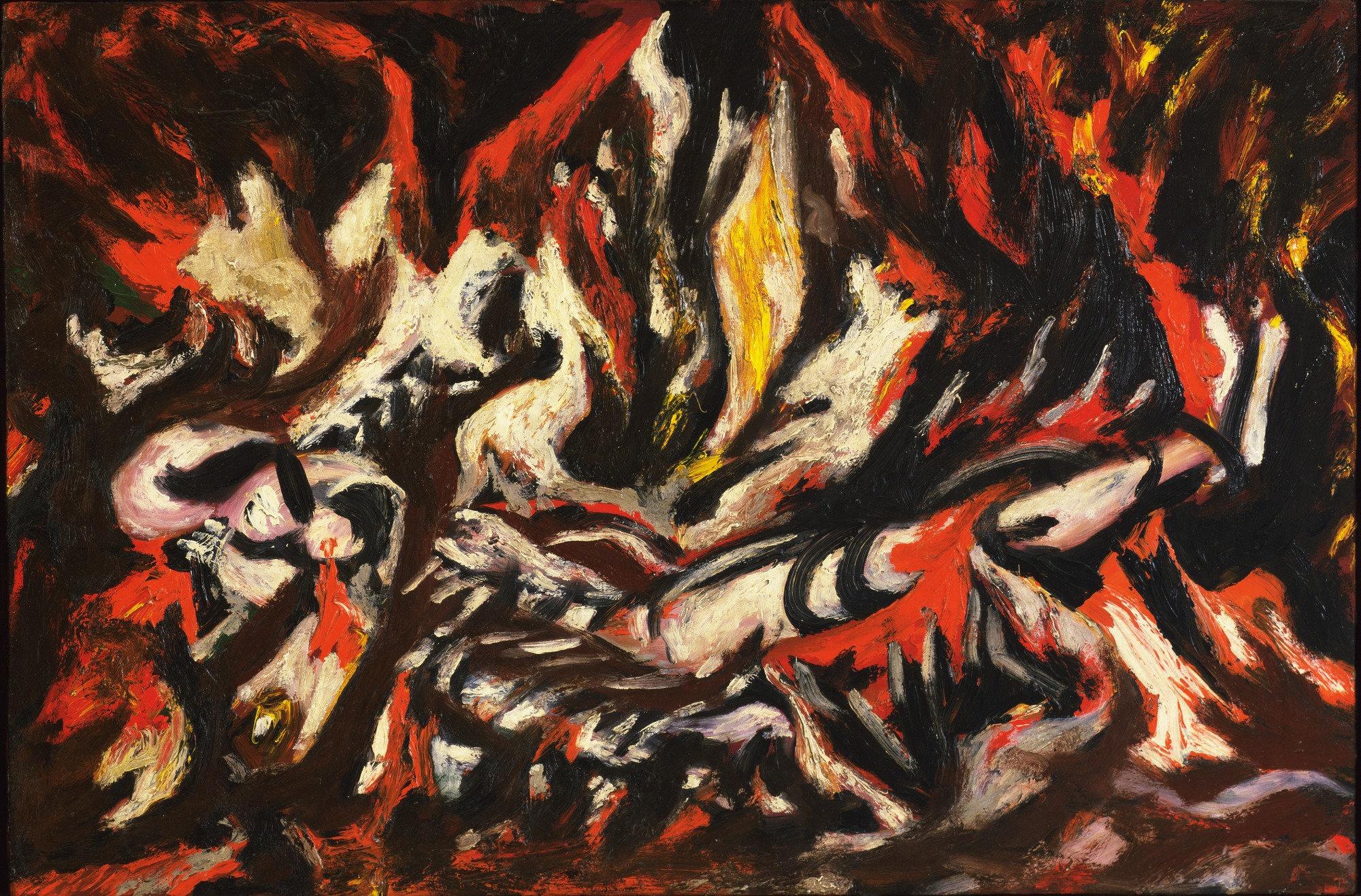 'The Flame' - Jackson Pollock © Moma