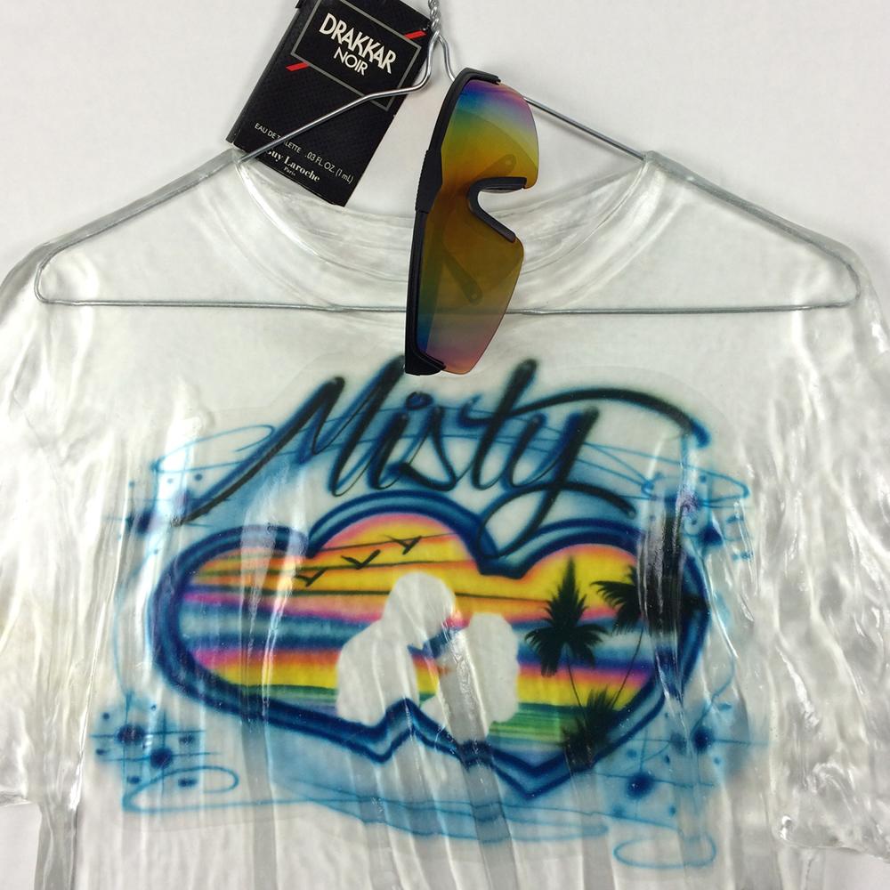 Detalle de una de las camisetas de 'Retired Jerseys' - Foto: chrisbakayart.com