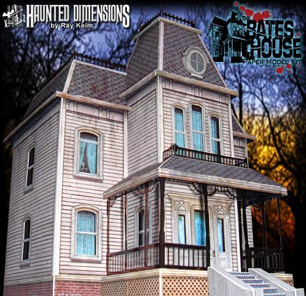 'Bates House' - Ray Keim - Foto: haunteddimensions.raykeim.com