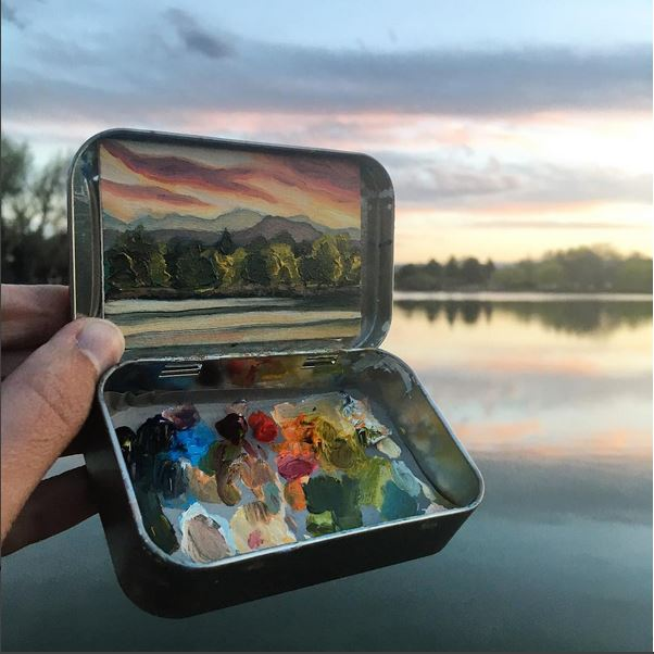 'Huston Lake Park' - Heidi Annalise - Foto: instagram.com/heidi.annalise.art
