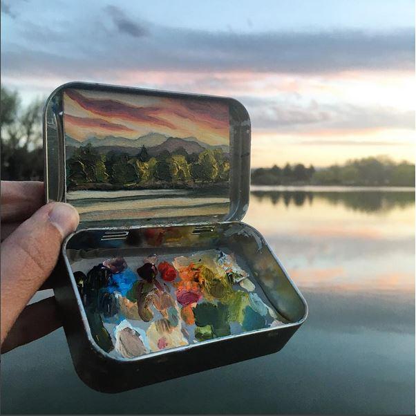 'Huston Lake Park' - Heidi Annalise - Foto: instagram.com/heidi.annalise.art