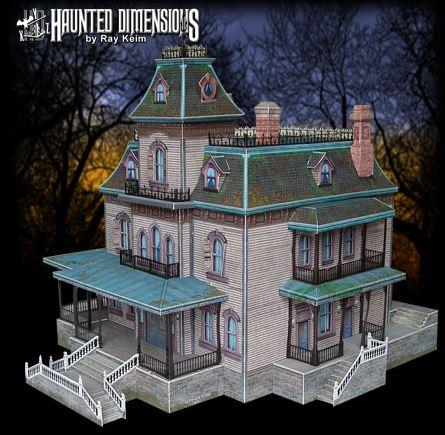 'Phantom Manor' - Ray Keim - Foto: haunteddimensions.raykeim.com