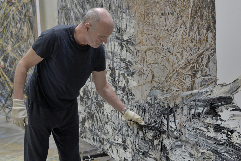 Anselm Kiefer. Photo: Charles Duprat 2014
