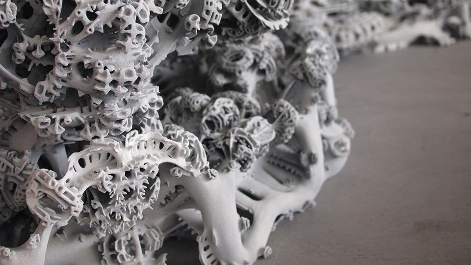 Digital Grotesque II at Centre Pompidou Imprimer le monde exhibition.