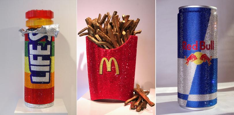 'LifeSavers' - 'Golden Fries' - 'No Bull About it' - Jonathan Stein - Fotos: gallerybiba.com