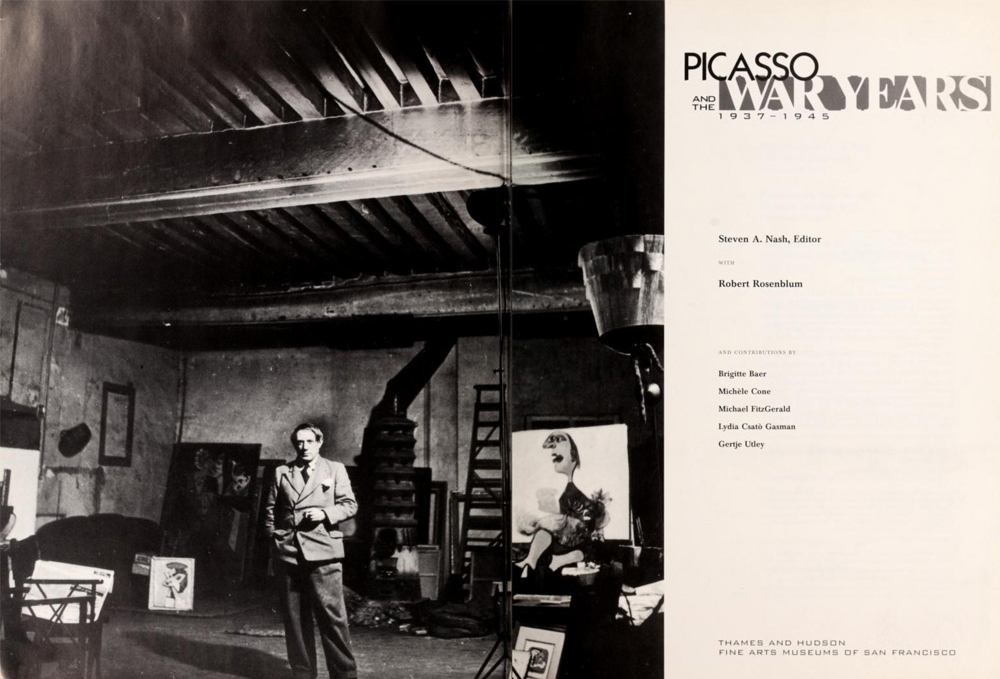'Picasso and the War Years 1937-1945' - Solomon R. Guggenheim Museum Library