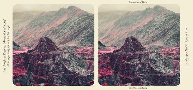 Imagen esteroscópica de las Montañas de Kong. ©Jim Naughten