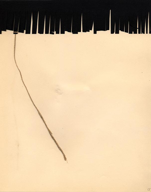 """""""[Un poema visual]"""", en Nous Poemes 1960 Sèrie Suites Col·lecció MACBA. Centre d'Estudis i Documentació. Fons Joan Brossa. Dipòsit Fundació Joan Brossa © Fundació Joan Brossa, Vegap, 2015 Foto: MACBA"""