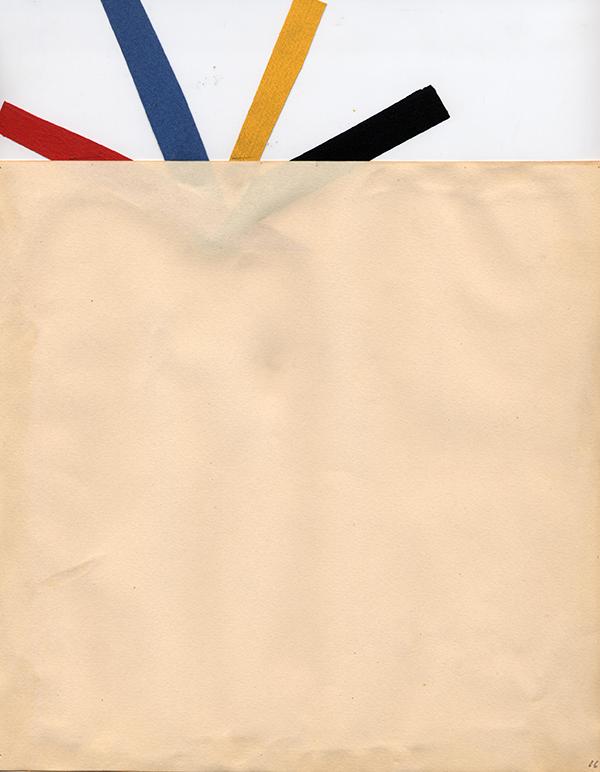 """""""[Un poema visual]"""", en Poemes 1960 Sèrie Suites Col·lecció MACBA. Centre d'Estudis i Documentació. Fons Joan Brossa. Dipòsit Fundació Joan Brossa © Fundació Joan Brossa, Vegap, 2015 Foto: MACBA"""