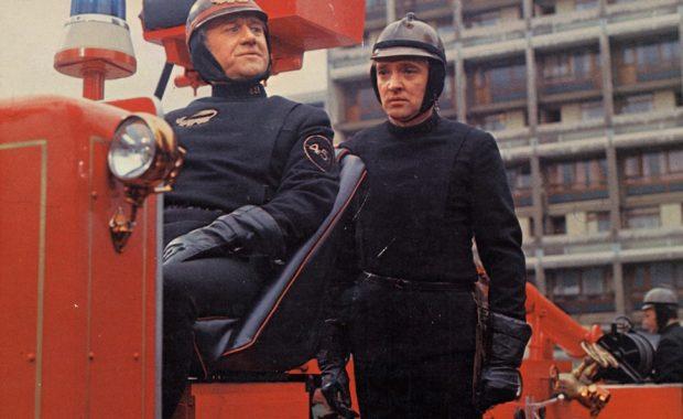 Imagen de la película Farenheit 451, de François Truffaut.