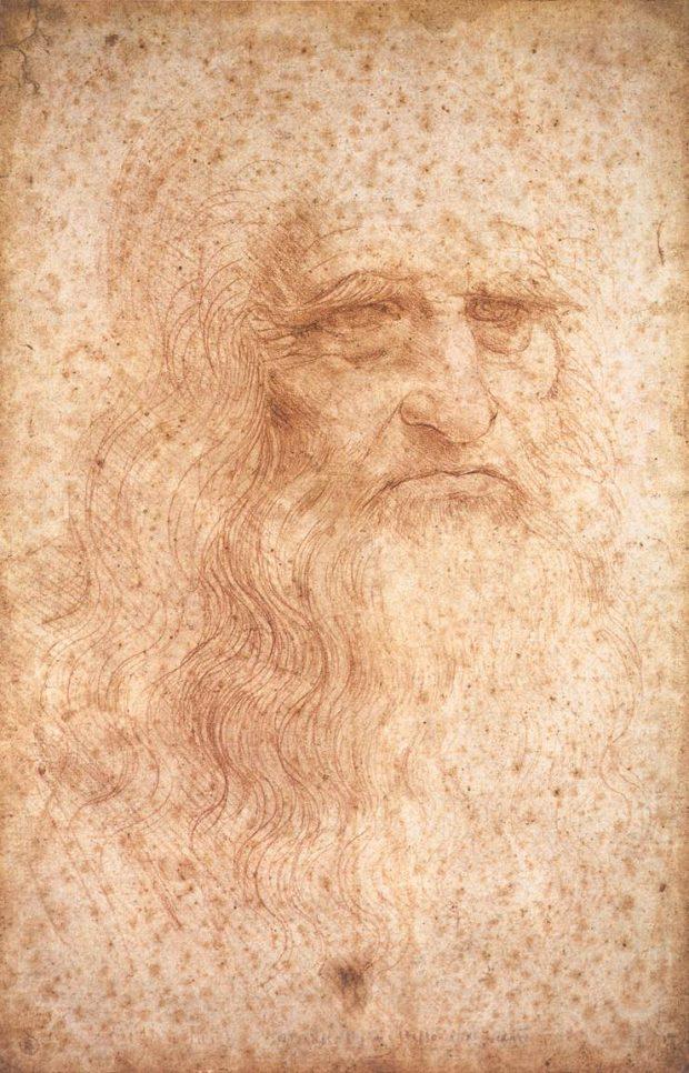 Leonardo da Vinci fue un zurdo con superpoderes. Fuente: Wikimedia Commons