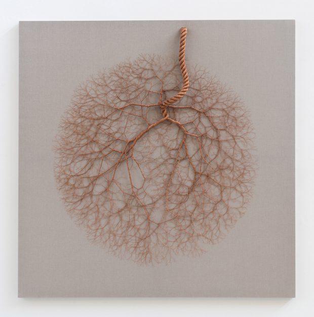 CICLOTRAMA 80 ( Aglomeración)200 x 200 cm. ©Janaina Mello Landini