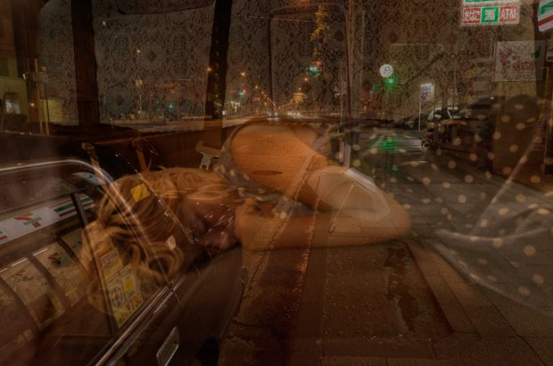 After Rain in Dark. ©Issui Enomoto, Photographer, Taxi driver.