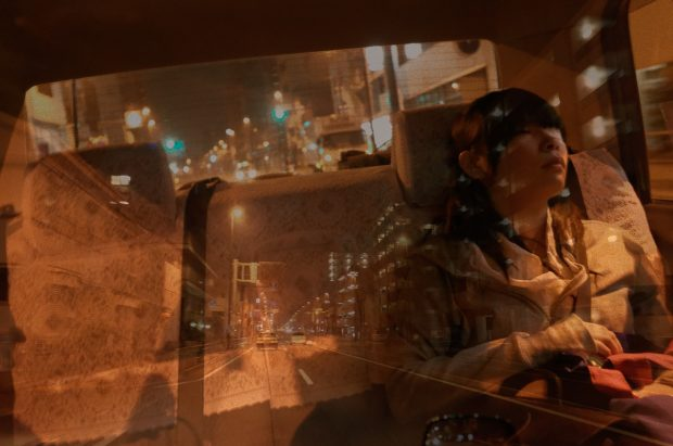 Eyesight within the Eyelid. Taxi in the Sea. ©Issui Enomoto