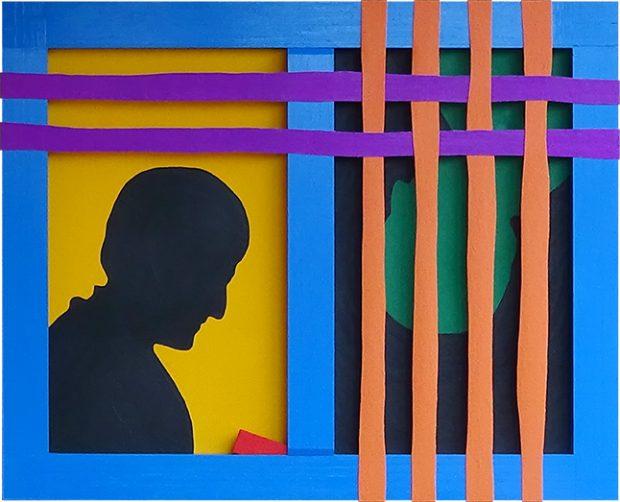 Atrapado. Autor: Martín Vicente Lozano. Serie: El arte ignorado II.