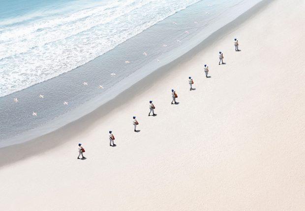 Los Caminantes © Felipe Bedoya.