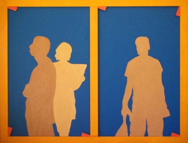 Composición 1. Autor: Martín Vicente Lozano. Serie: El arte ignorado II.