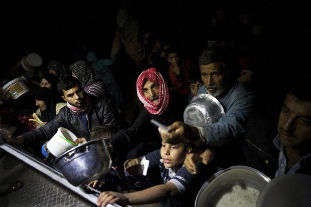 ©GTRESONLINE. Foto: Manu Brabo. PREMIOS PULITZER ASSOCIATED PRESS. Sirios desplazados en el campamento de refugiados cercano a Azaz.